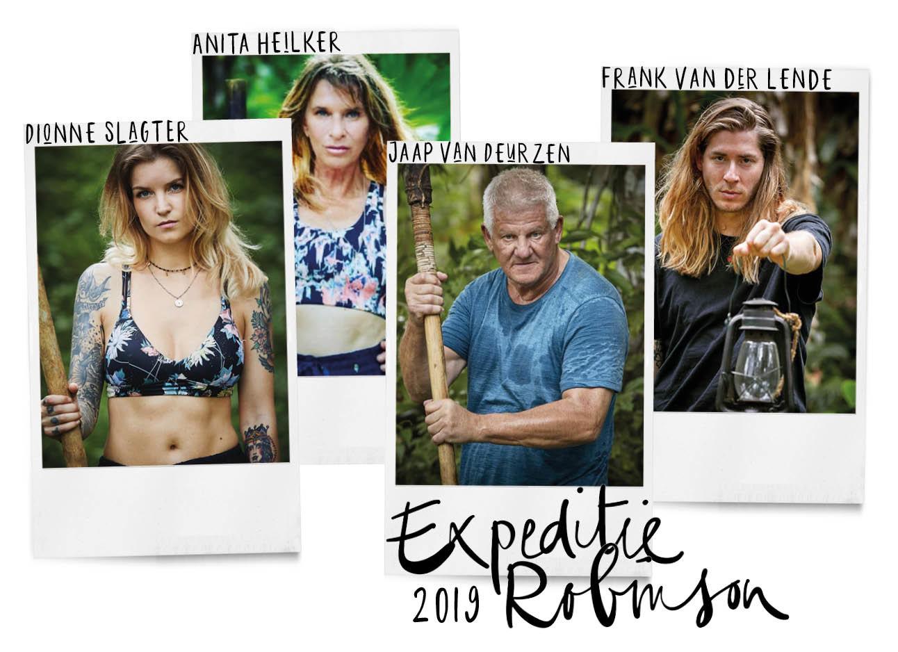 expeditie robinson kandidaten 2019