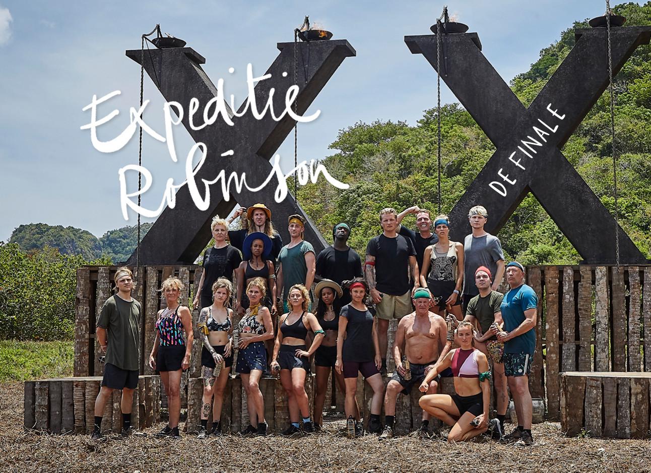 de cast van expeditie robinson