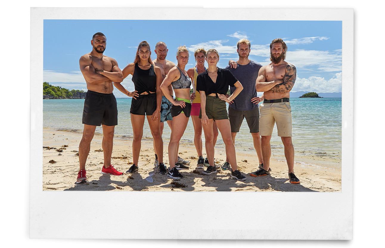 beeld van de nieuwe expeditie leden