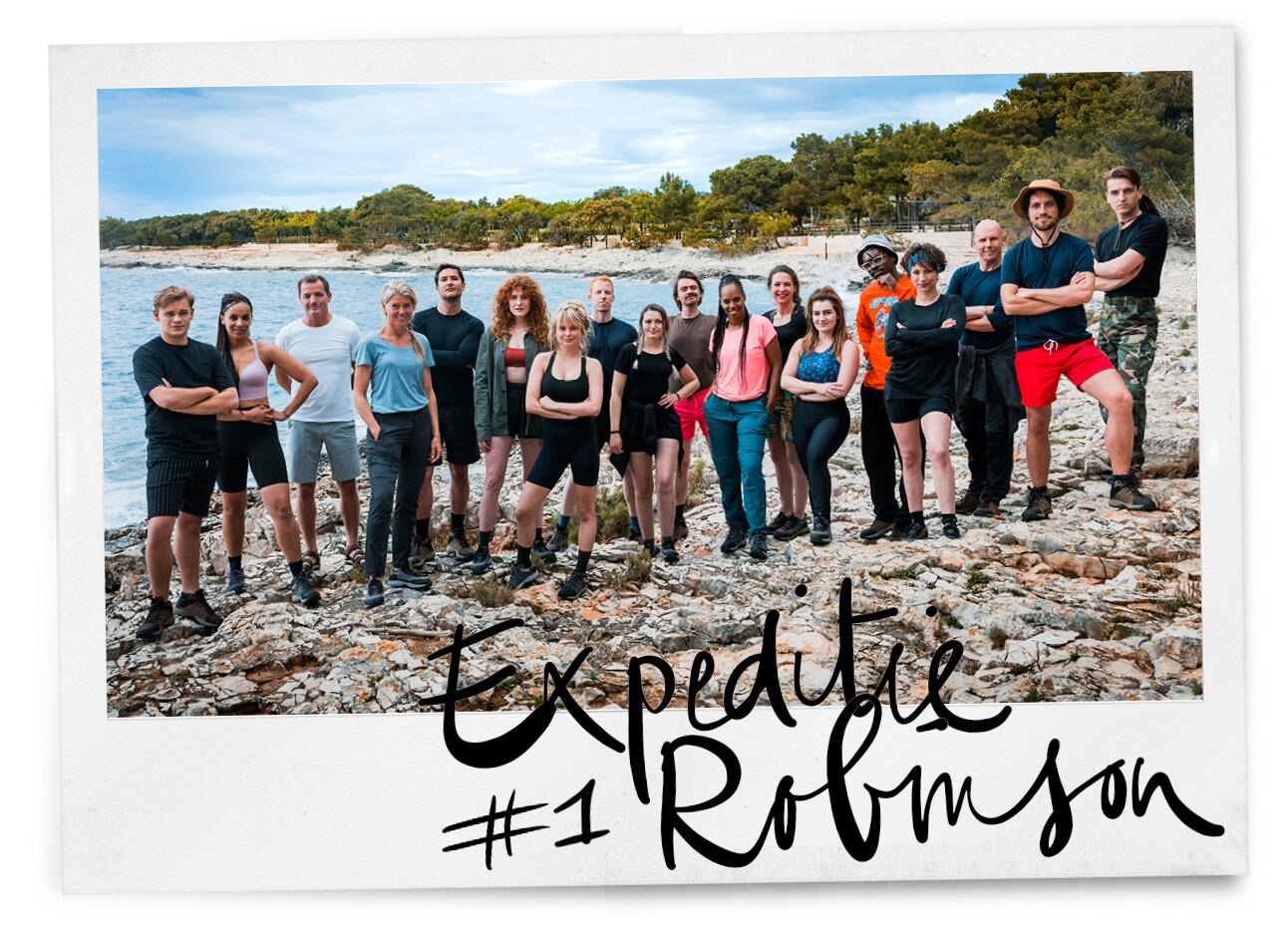 Expeditie Robinson: De napraataflevering 1