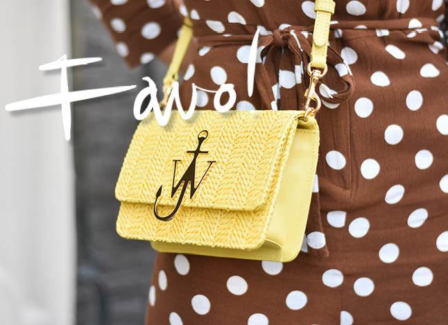 JW anderson bag, geel