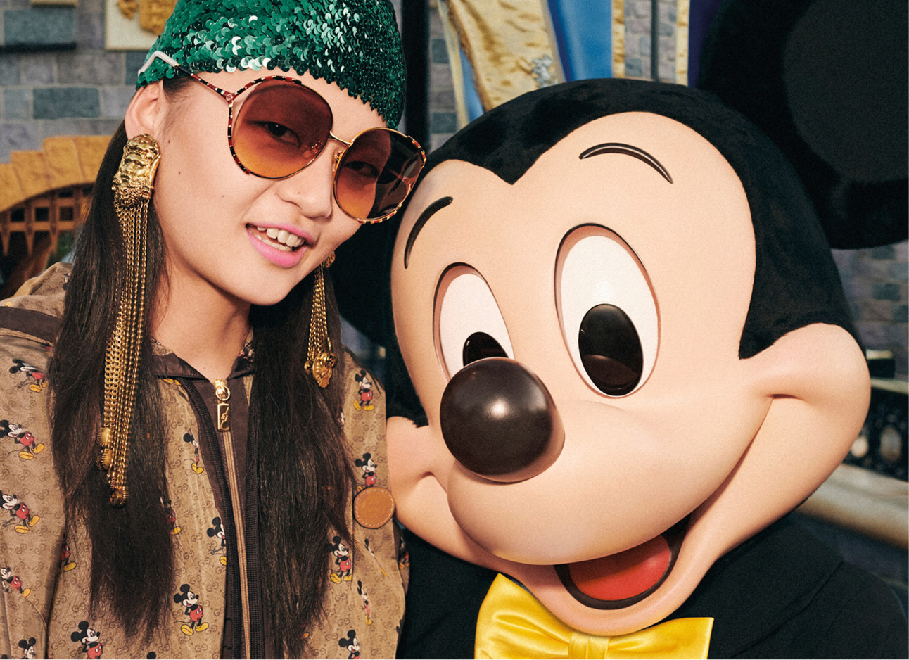 gucci collectie met mickey mousea