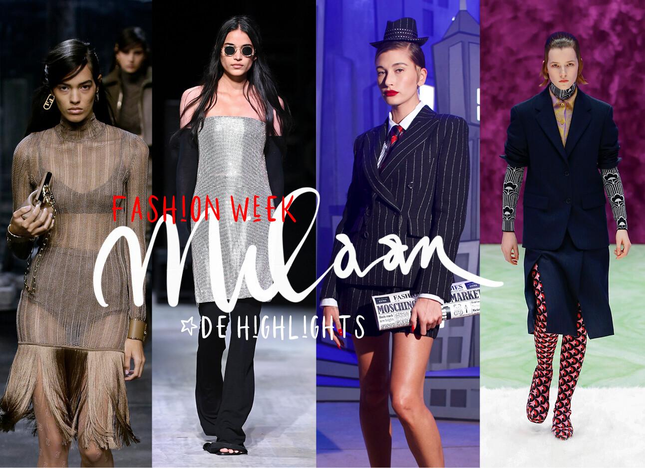 Dit zijn dé items waar het modevolk het vandaag over heeft milaan fashionweek