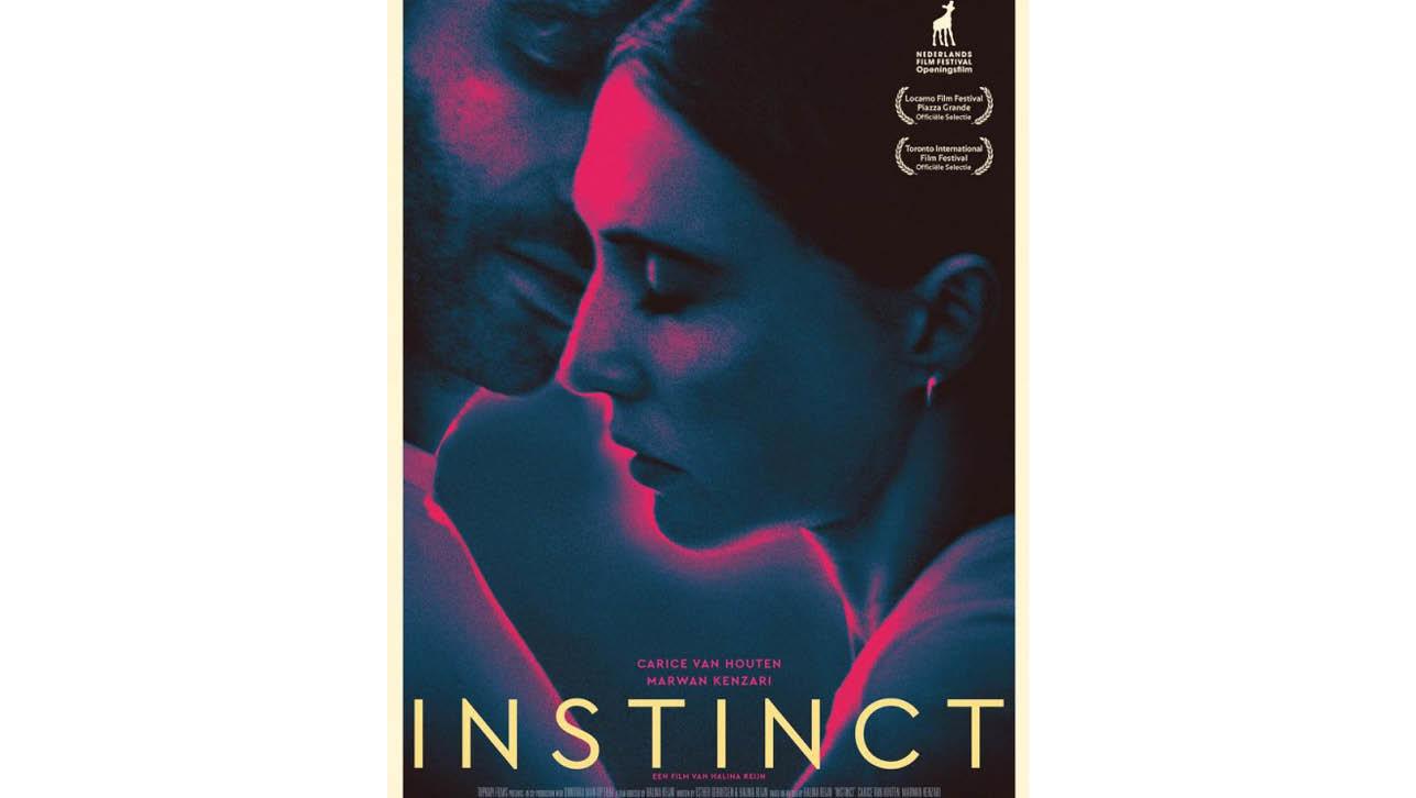 een poster van de film Instinct
