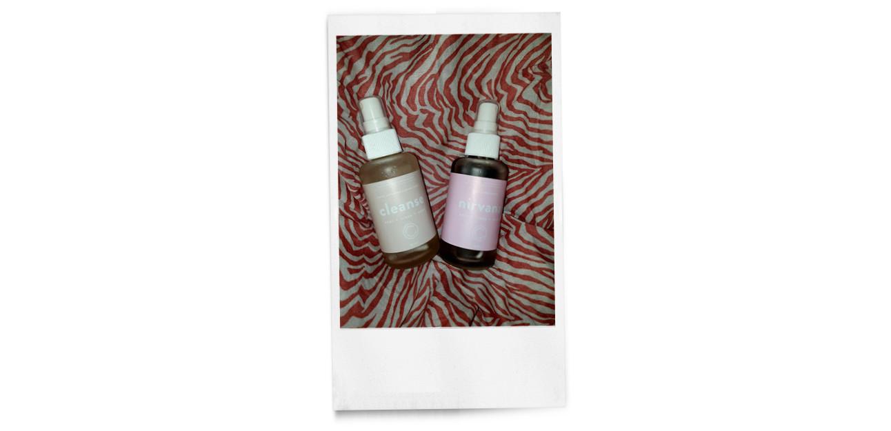 2 parfum flesjes