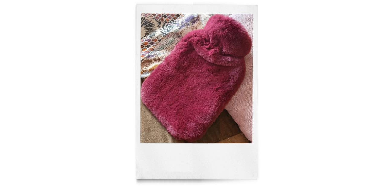 een warme pluizige trui