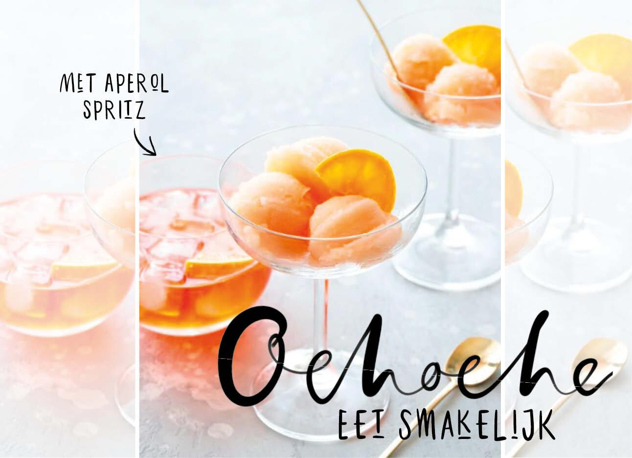 Om meteen te maken: Aperol Spritz Sorbetijs