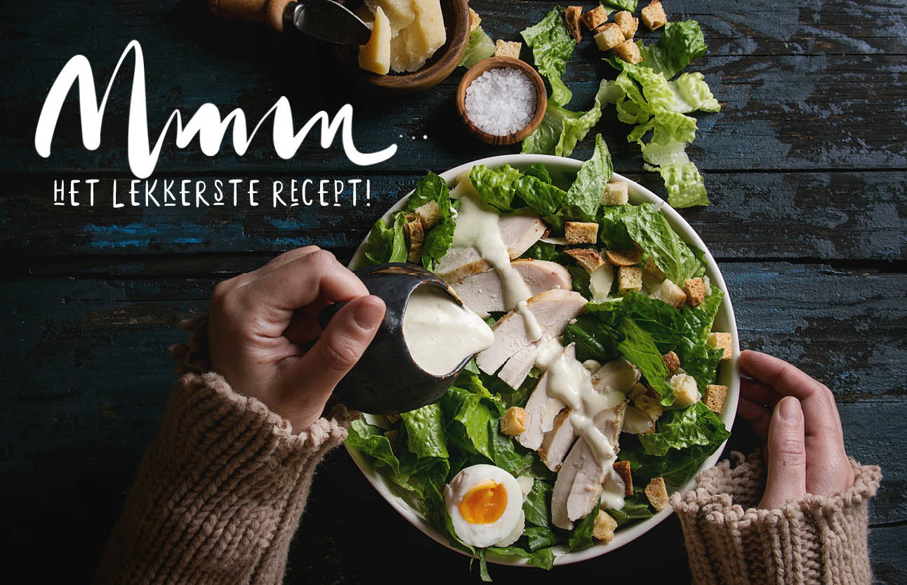 recept caeser salad