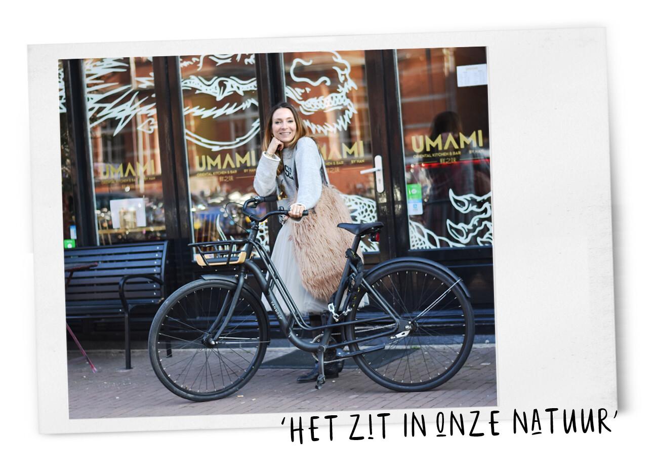 may fietsen door amsterdam
