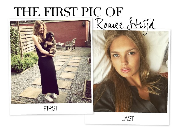 Citaten Strijd Xi : The first pic of romee strijd amayzine