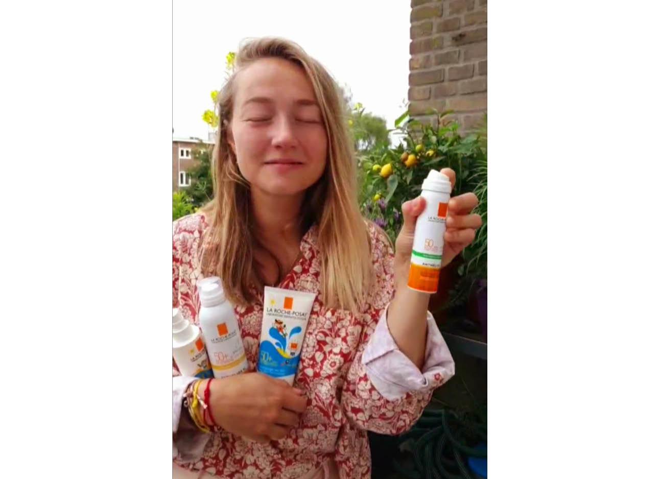 spray zonneproducten