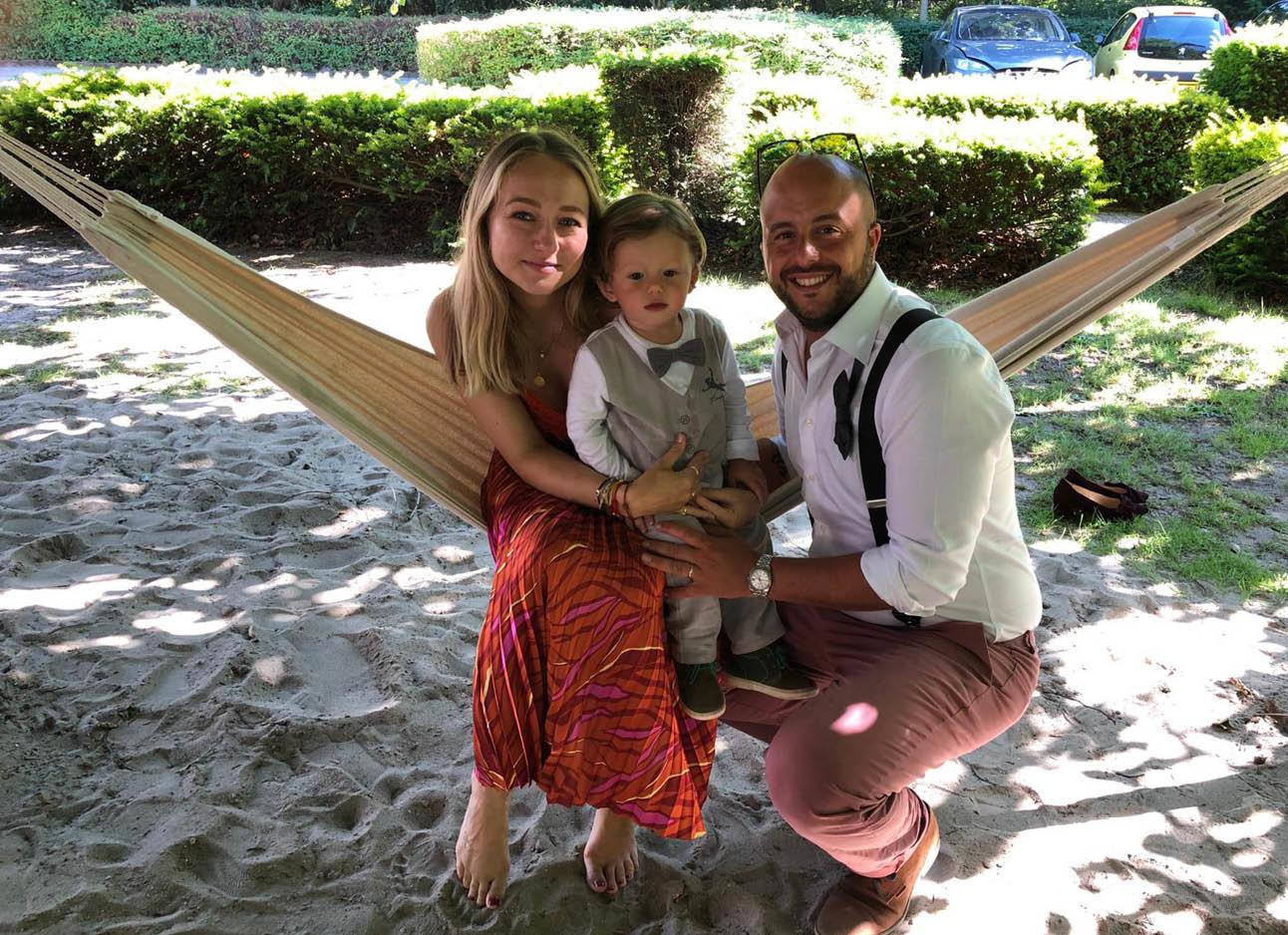 carolien en haar gezin