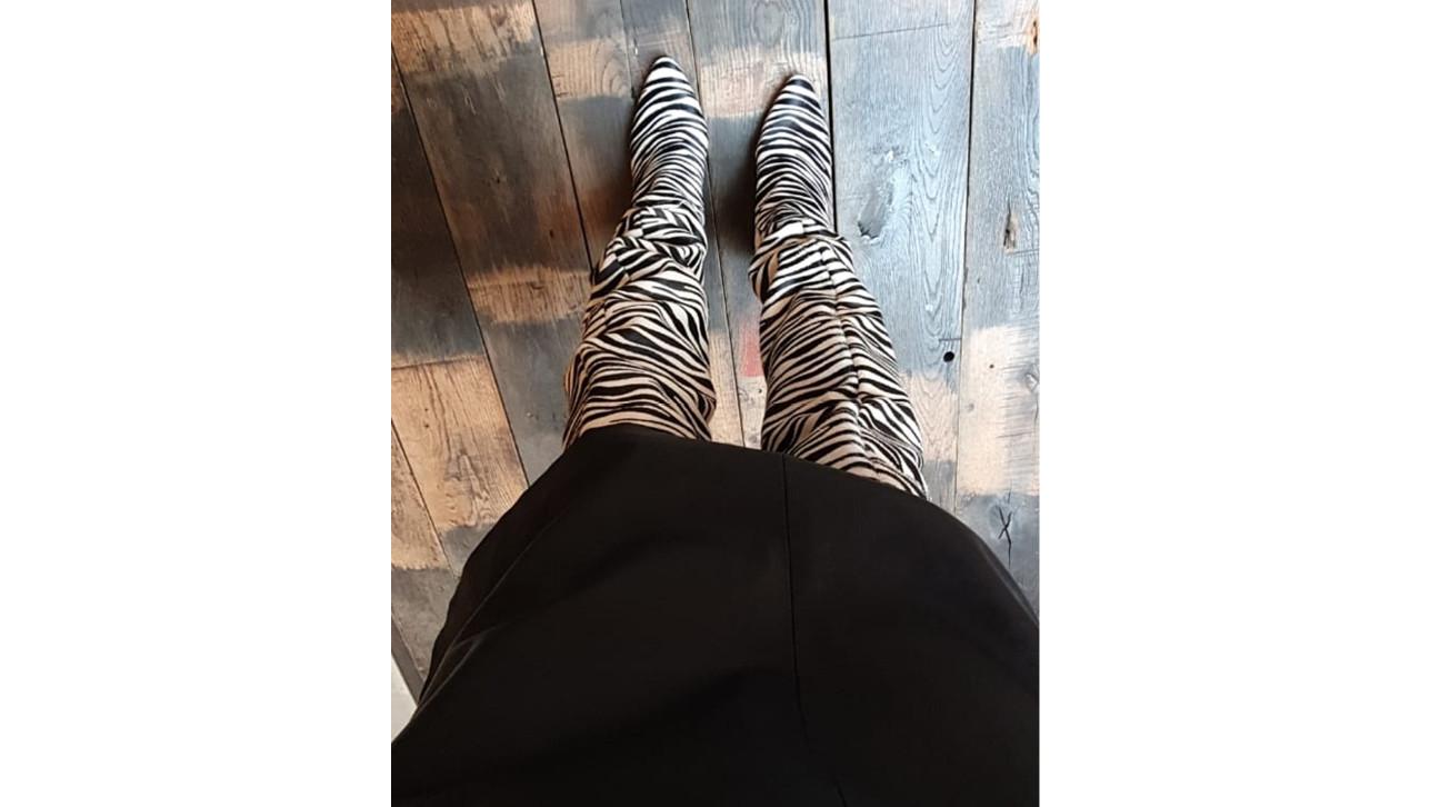 Deze week stond de tijd even stil voor Carolien Haar schoenen