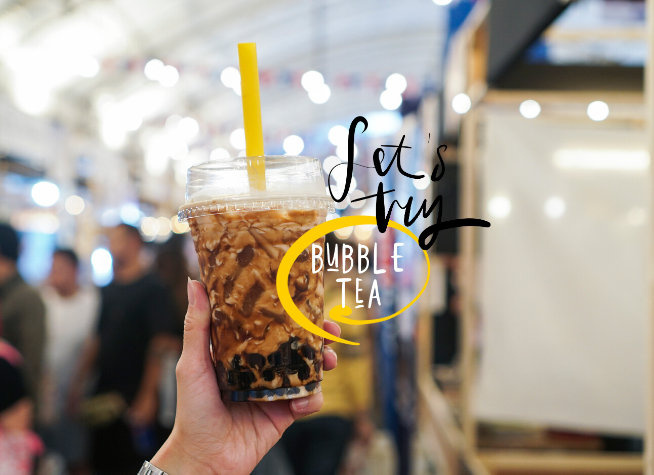 eten en drinken bubble tea