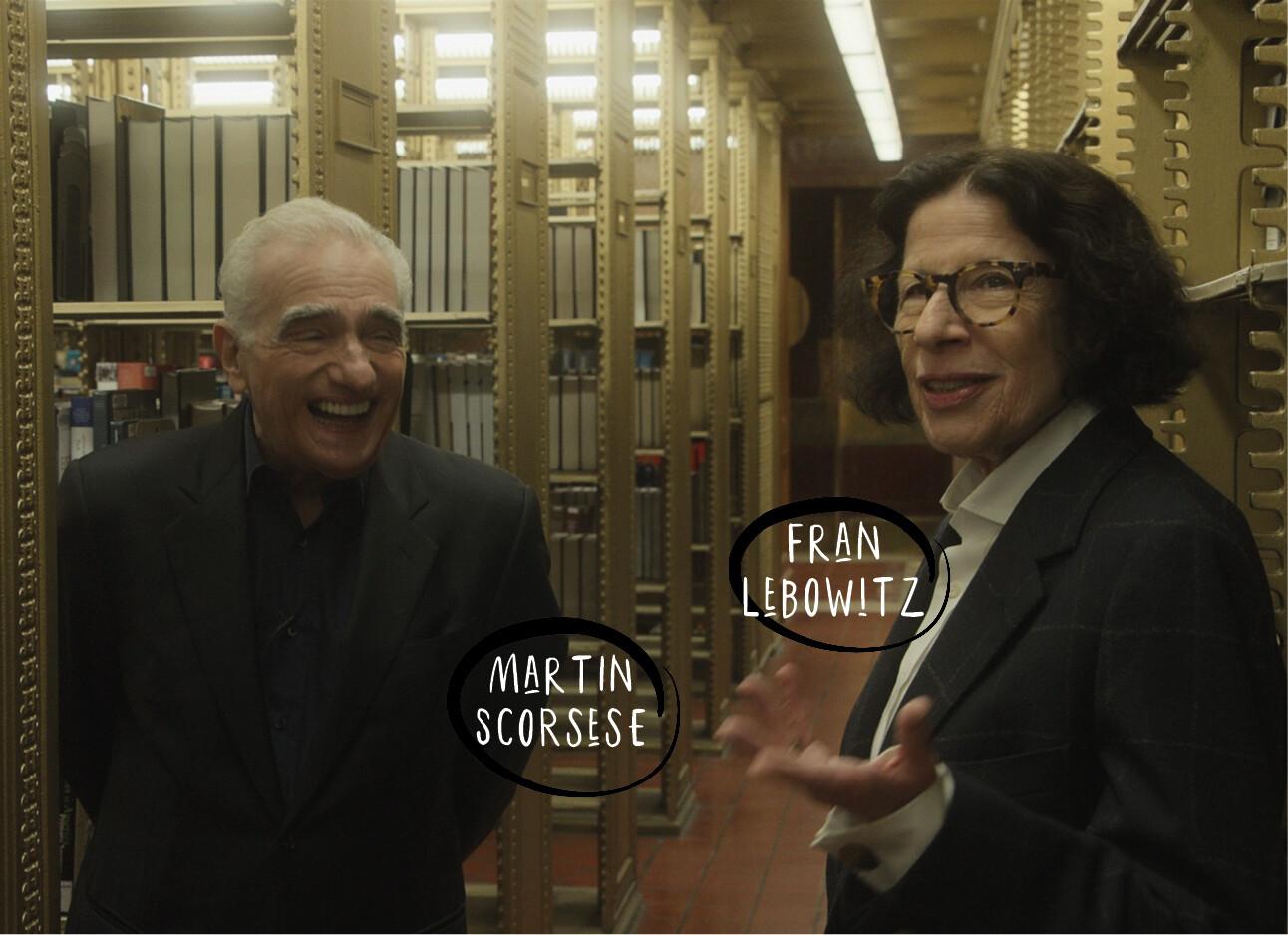 Fran Lebowitz-MartinScorsese-Netflix-docu-NewYork