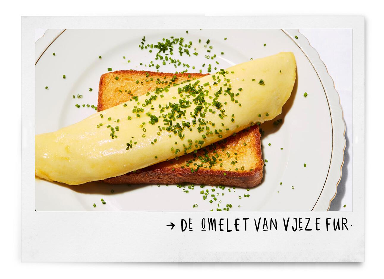 omelet vjeze fur