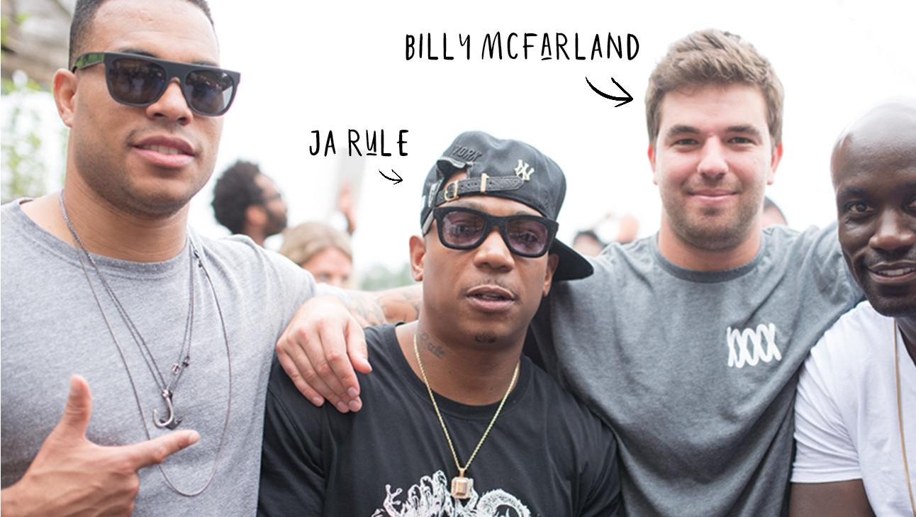 fyre festival organisatie Billy en Jarule