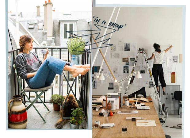 Vrouwen aan het werk