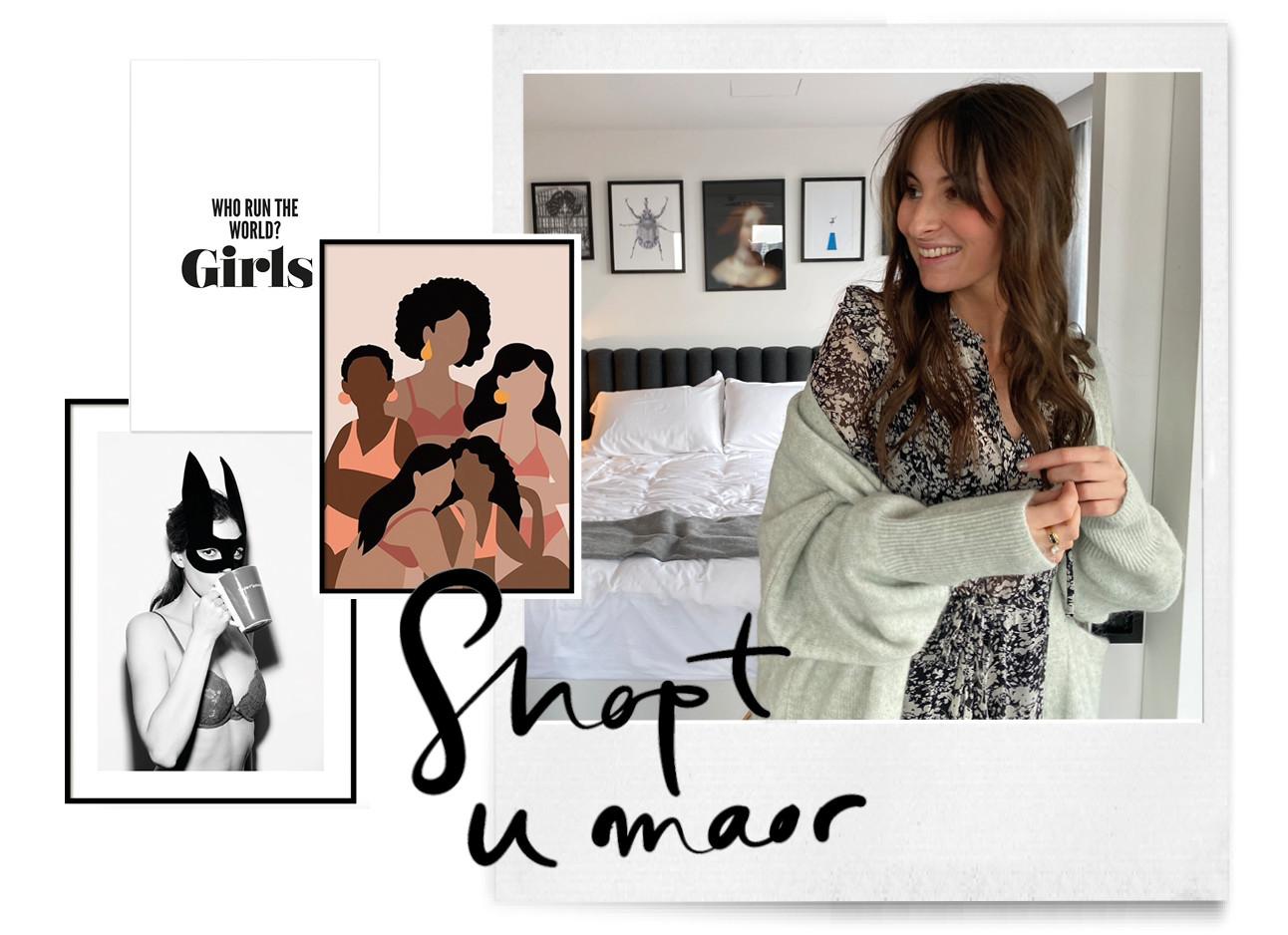 Girl power posters voor aan de muur met lilian brijl