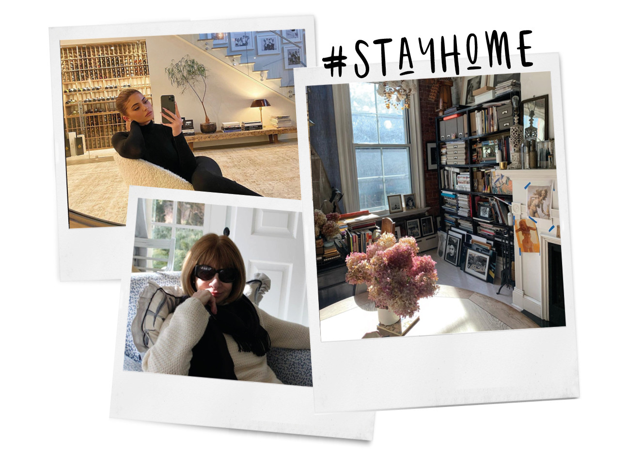 Stay home Kylie jenner Anna wintour