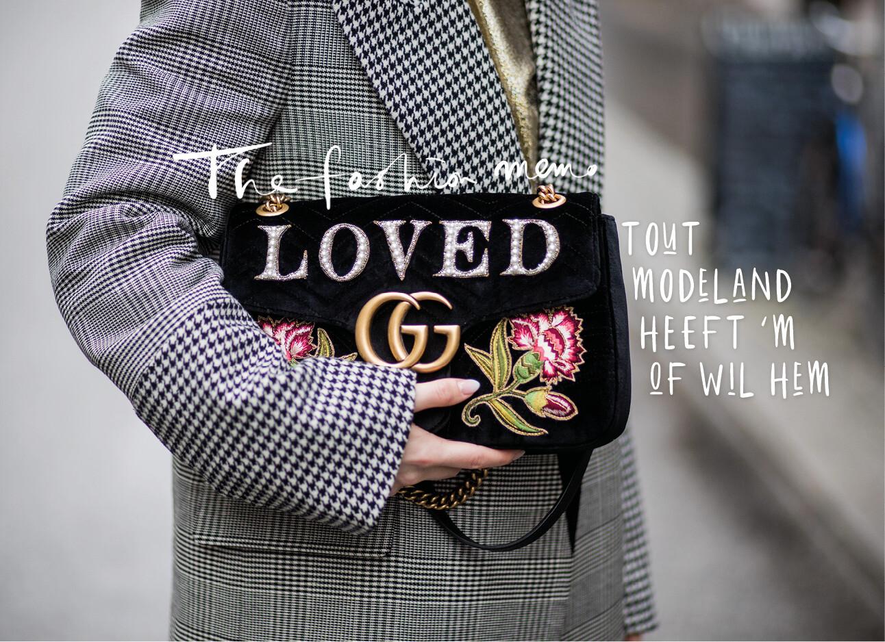 In de ban van de tas Gucci