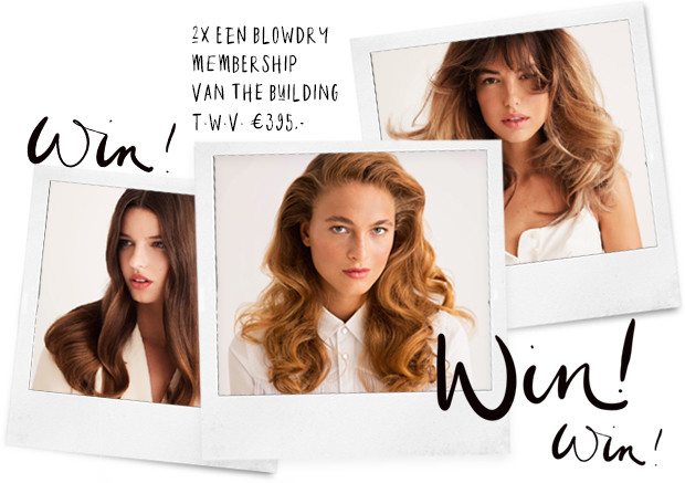 win een blowdry membership