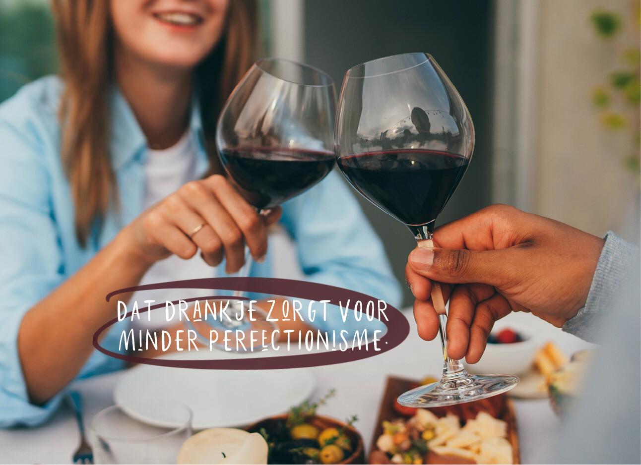 Alcohol drinken zorgt voor minder perfectionisme