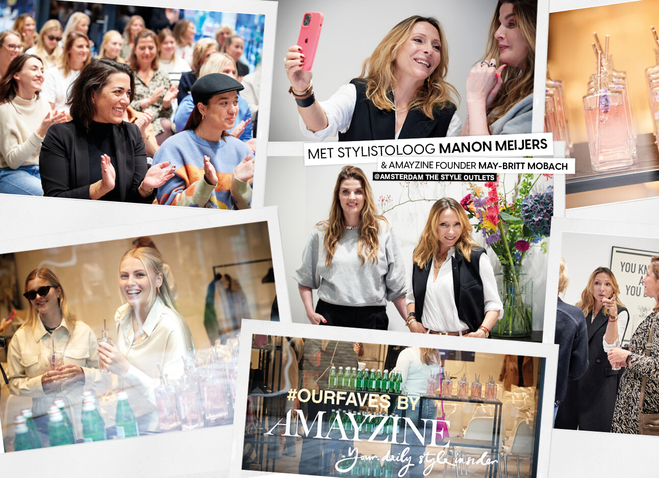 amsterdam the style outlets met may britt mobach en manon meijers