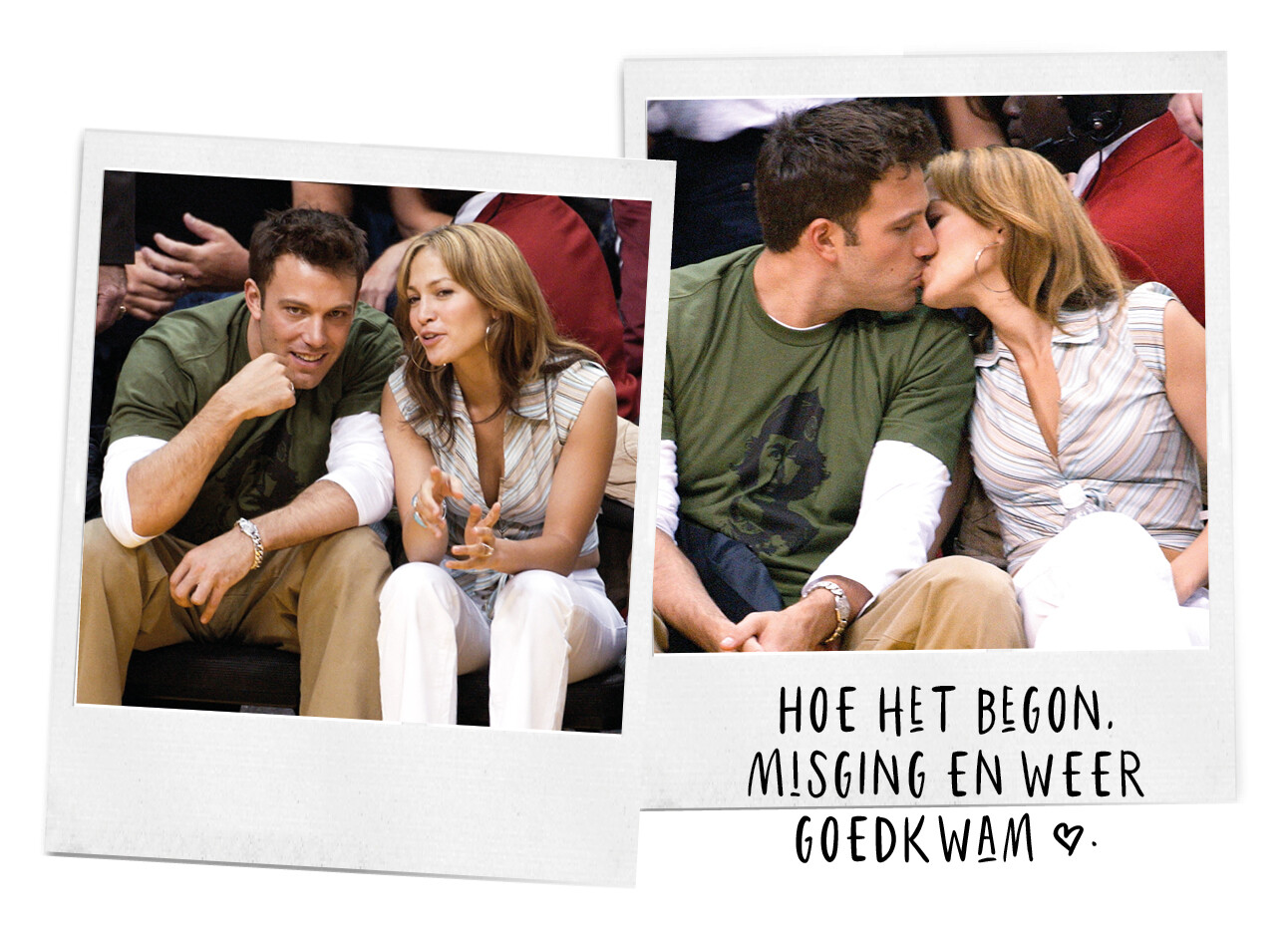 Jennifer Lopez en Ben Affleck