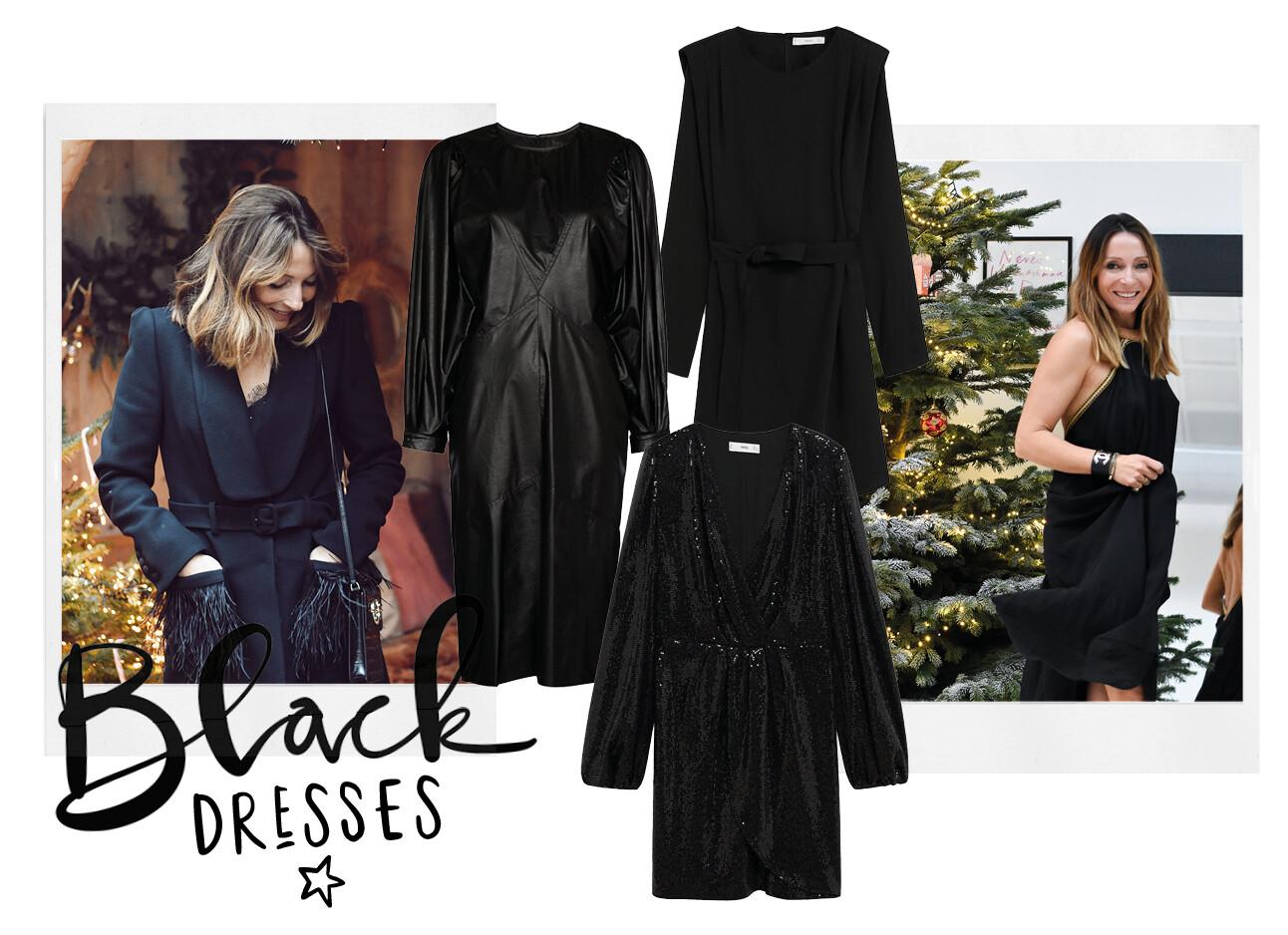Zwarte christmas dresses
