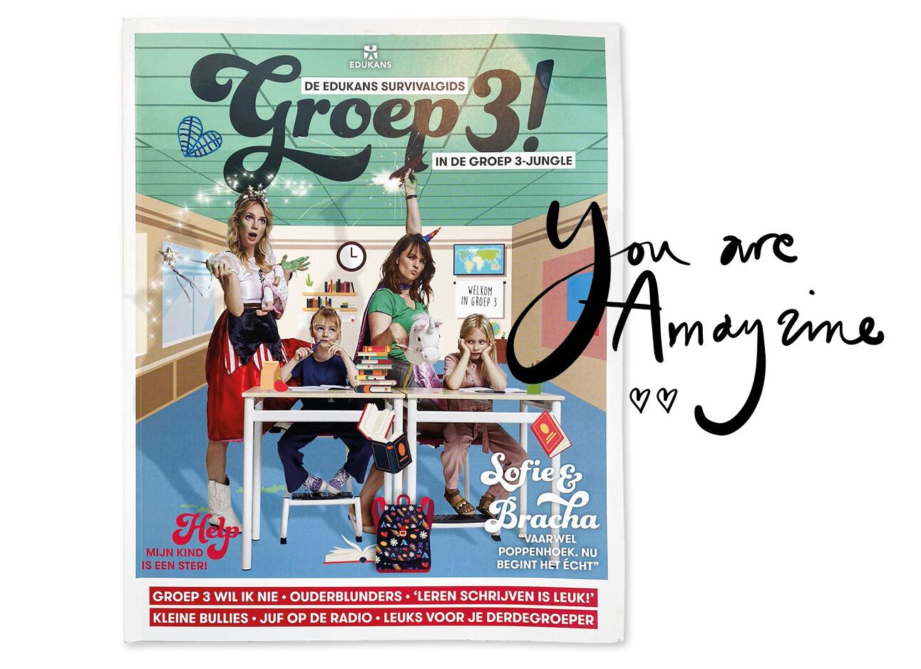 Magazine van Bracha Groep3!