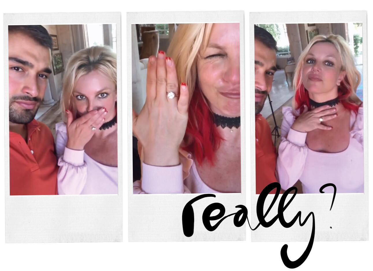 Britney Spears verloofd