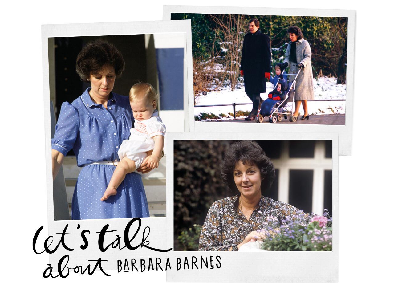 Barbara Barnes, nanny van Harry en William