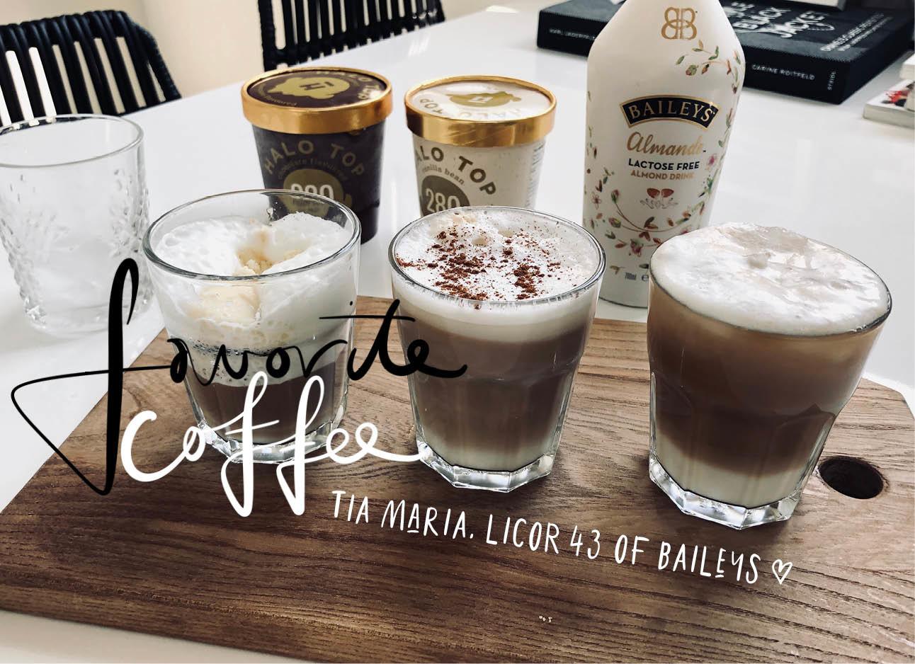 de aller lekkerste coffee baileys ijs melk zomers ijs