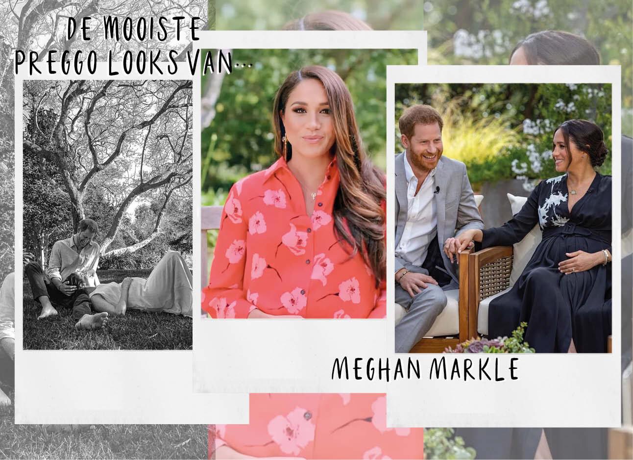 De mooiste preggo looks van Meghan Markle