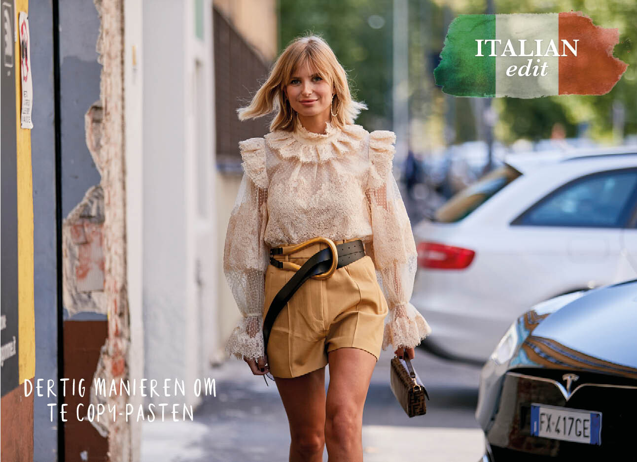 De #1 stylingtruc van de Italian cool girls