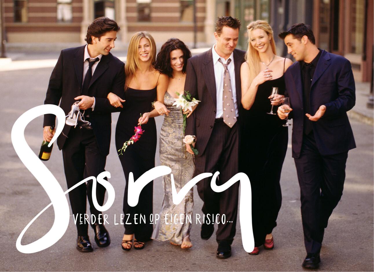 Friends cast vocale tic van Rachel