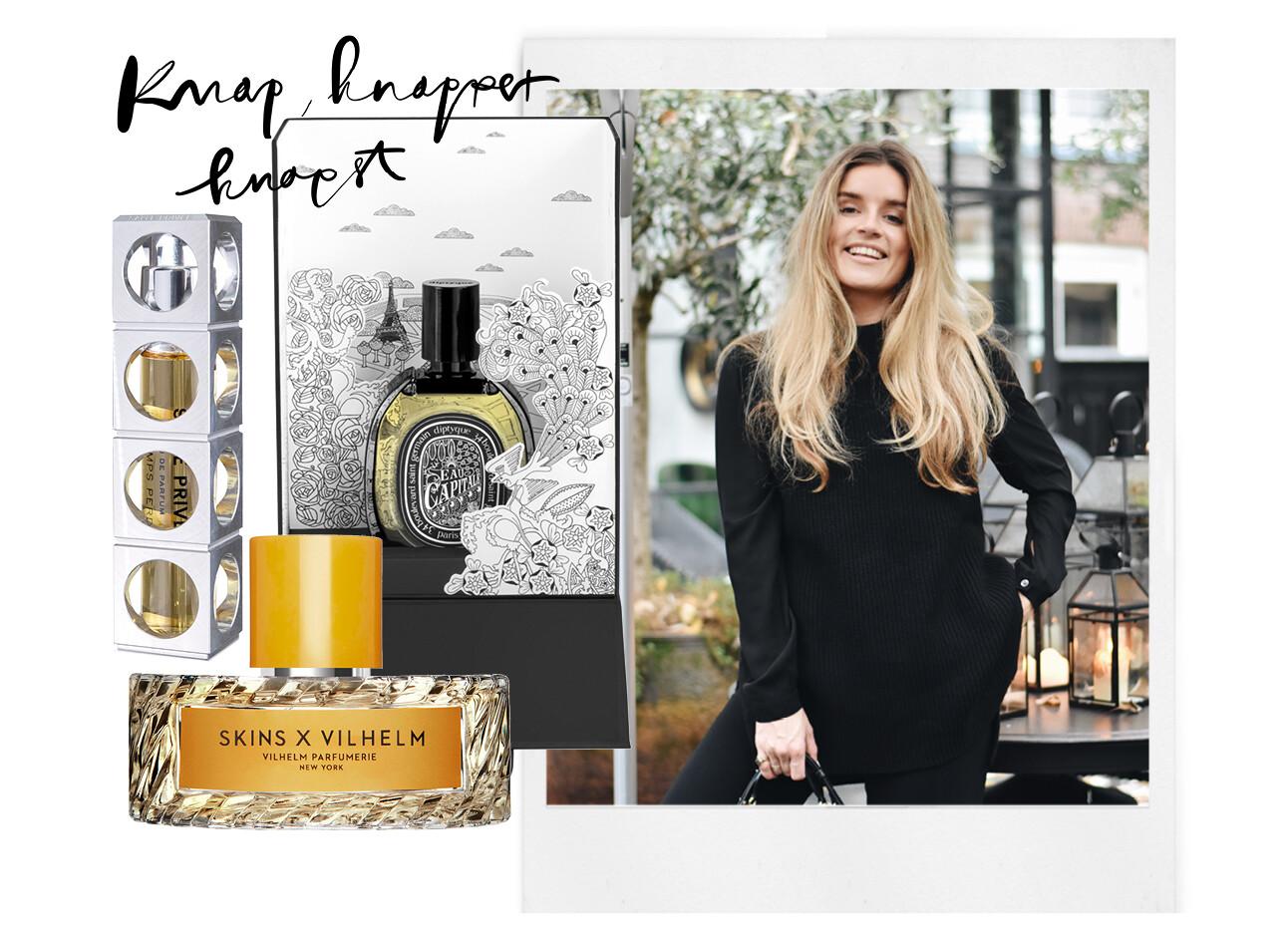 lotte van scherpenzeel met parfum Skins Diptique Salee Privee
