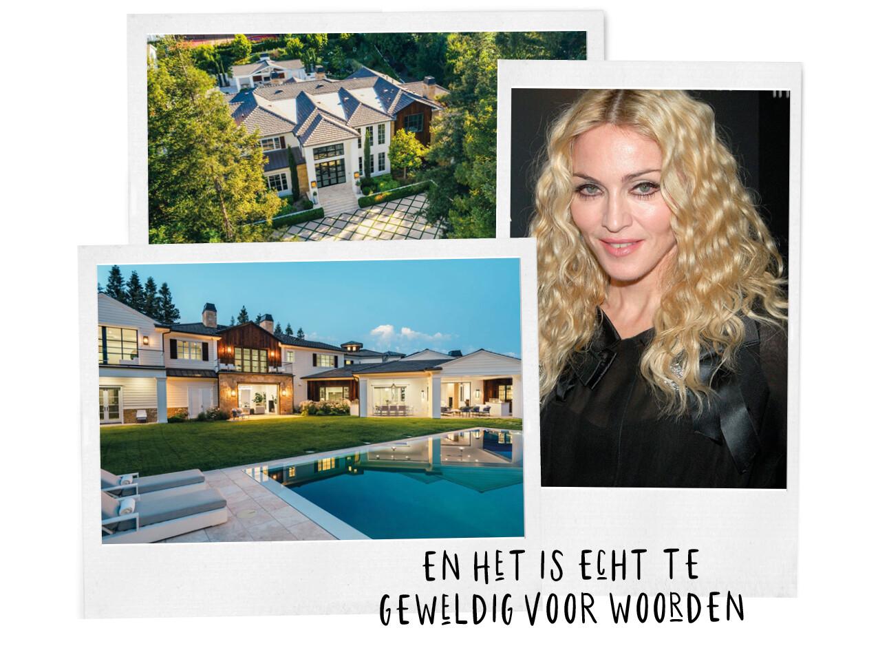 Madonna nieuwe huis gekocht van The Weeknd