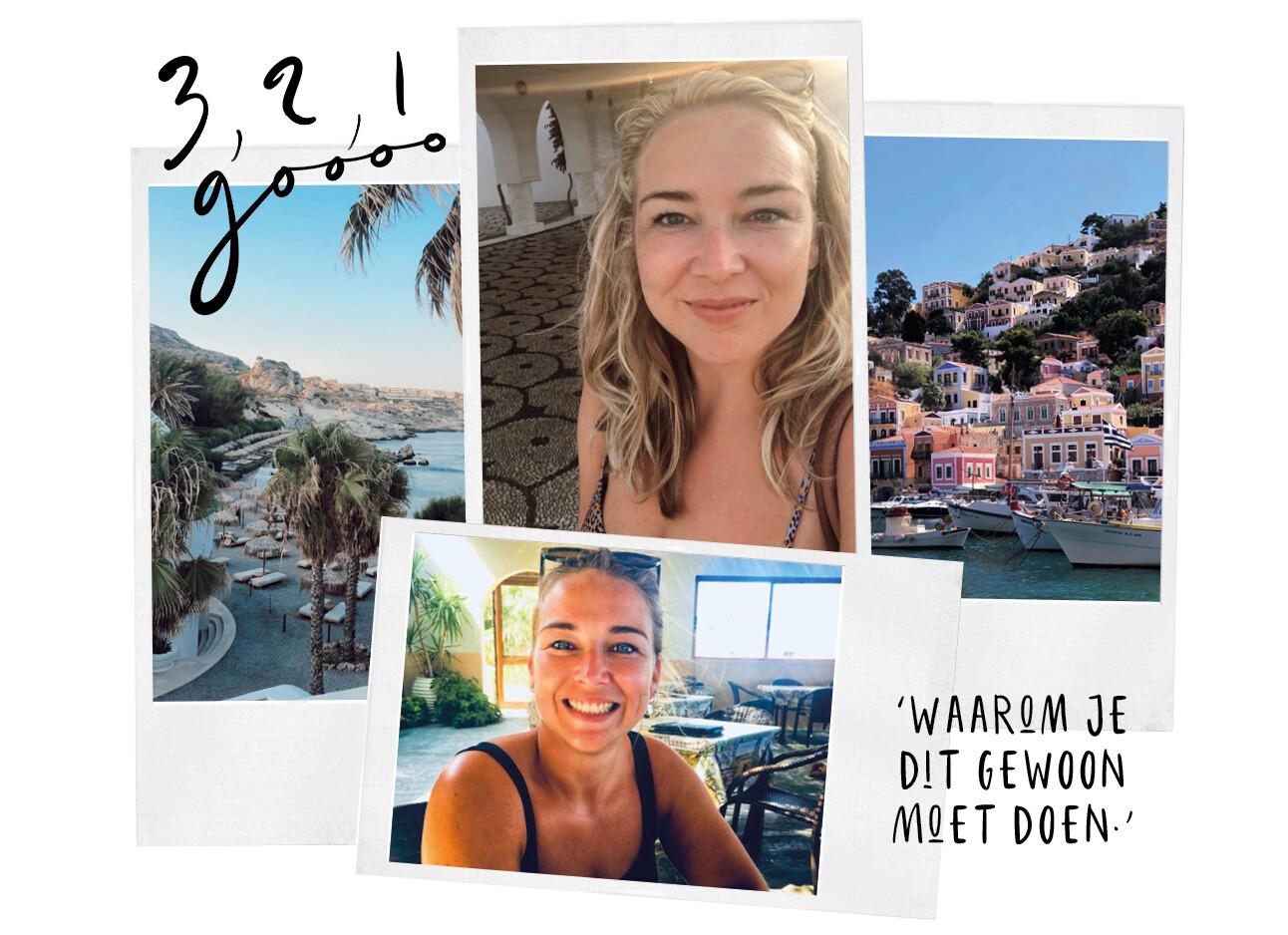 Adeline vertrekt voor 2 maanden naar Griekenland