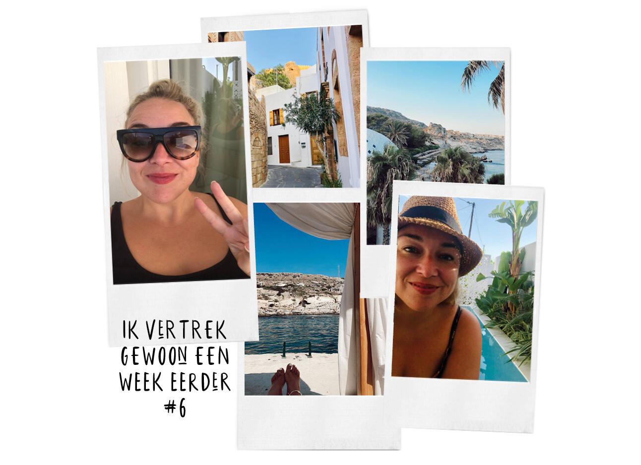 Adeline Mans in Griekenland