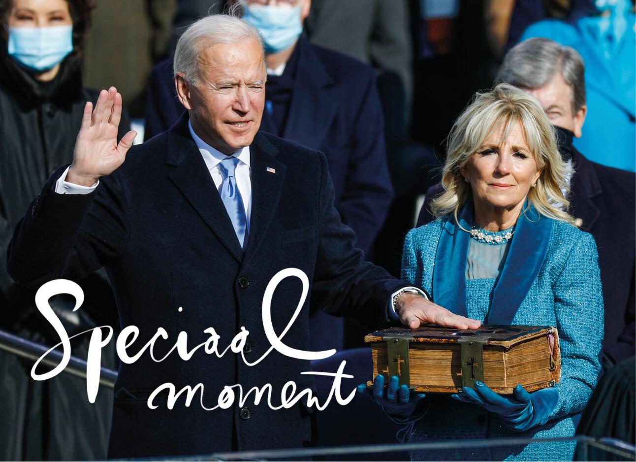 Joe biden inauguratie