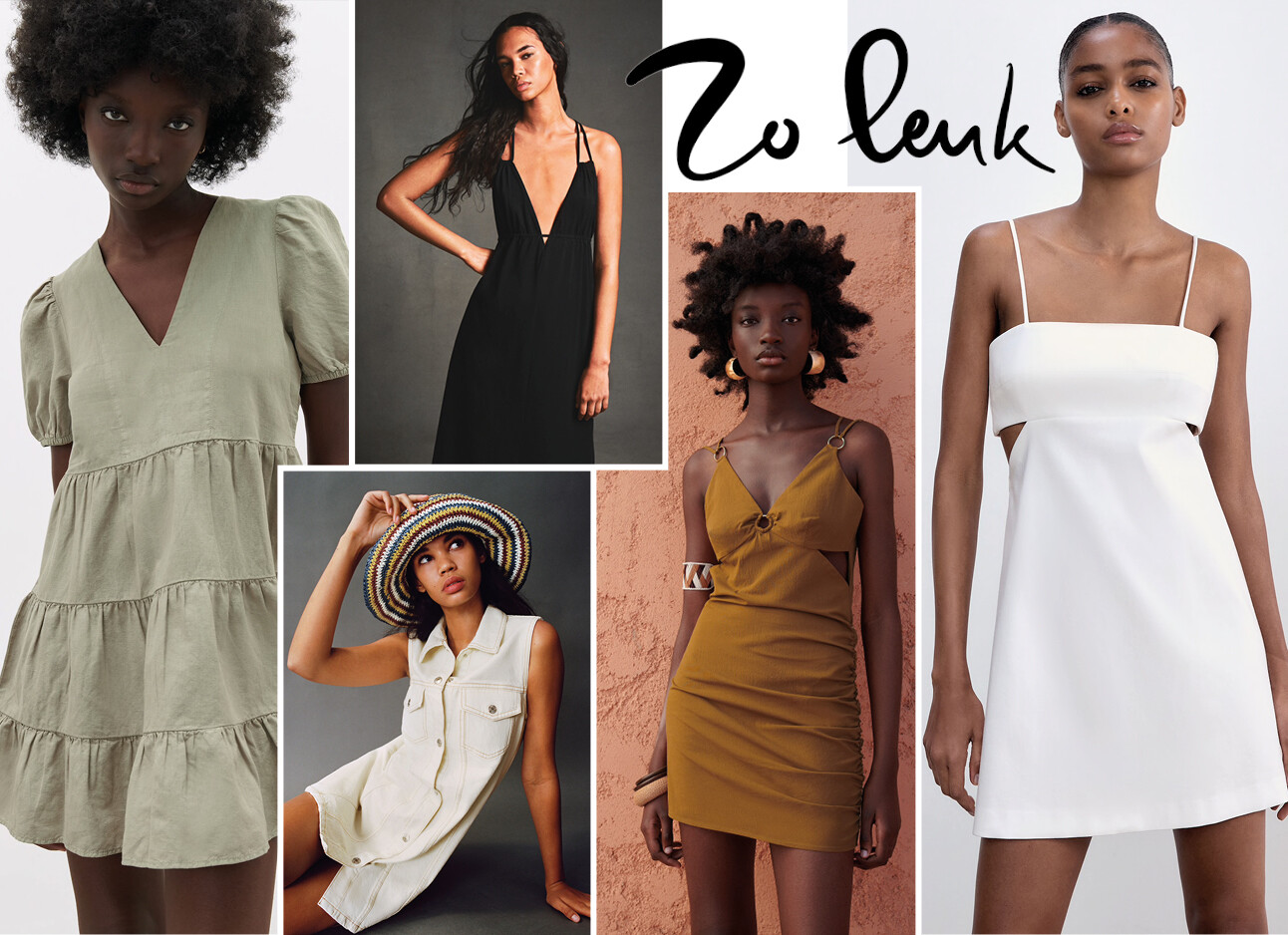 30 x de mooiste jurkjes van Zara onder de €30,-