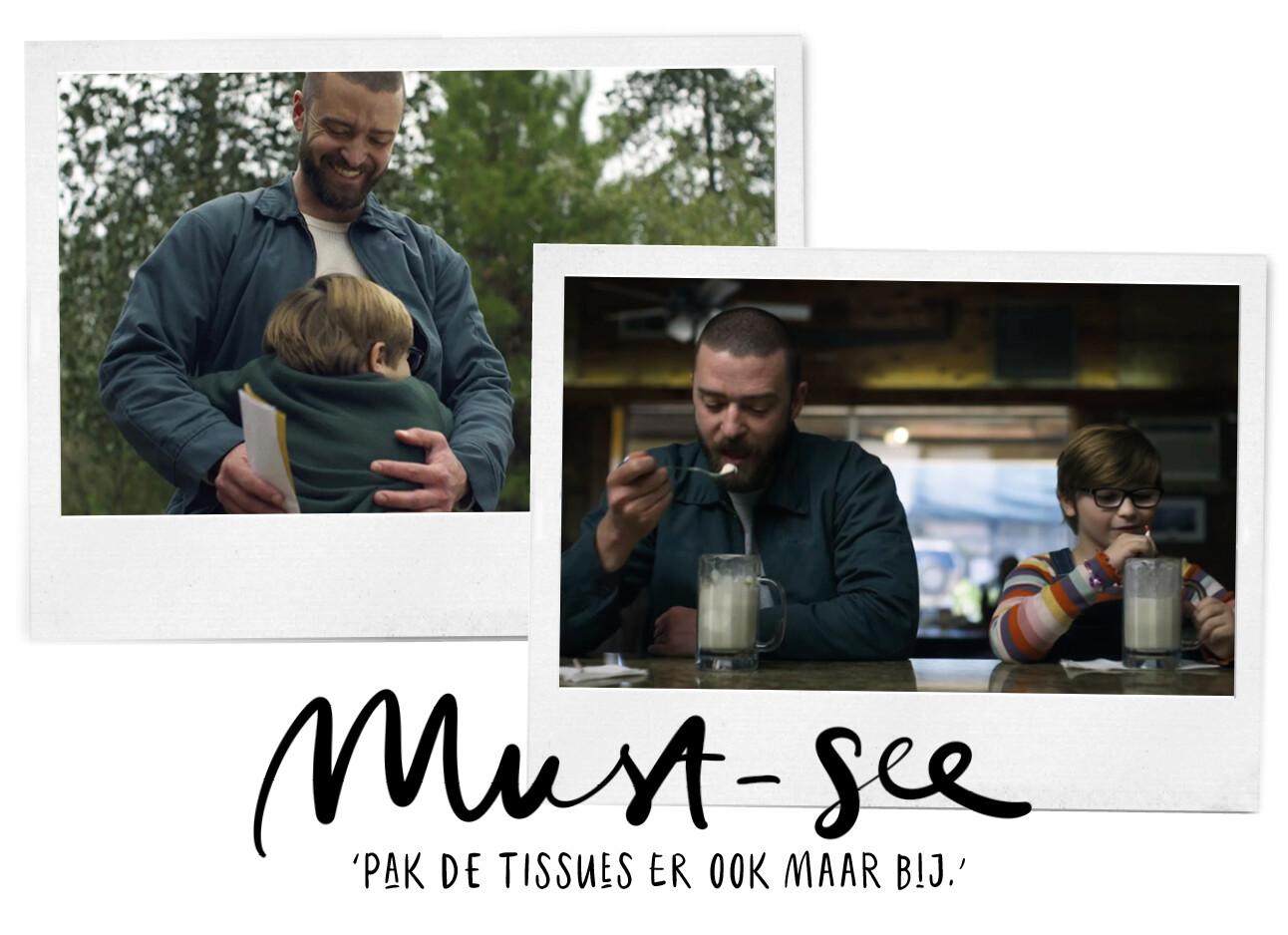 palmer film met Justin Timberlake
