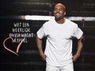 Love is in the air: is dit de nieuwe vriendin van Kanye West?