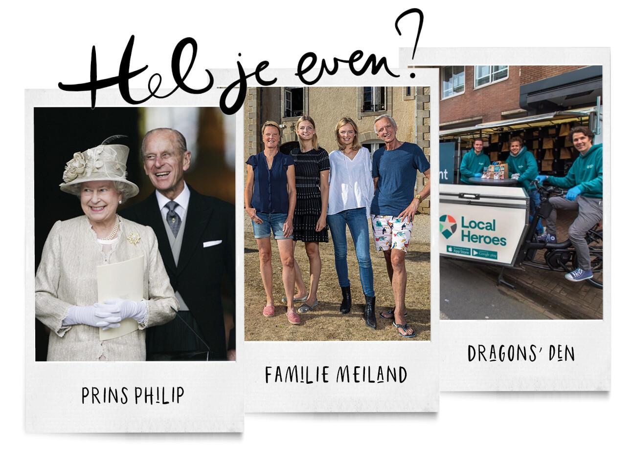 Koffiezetpraatjes over de begrafenis van prins Philip, de inkomsten van fam. Meiland en de grootste investering bij Dragons Den