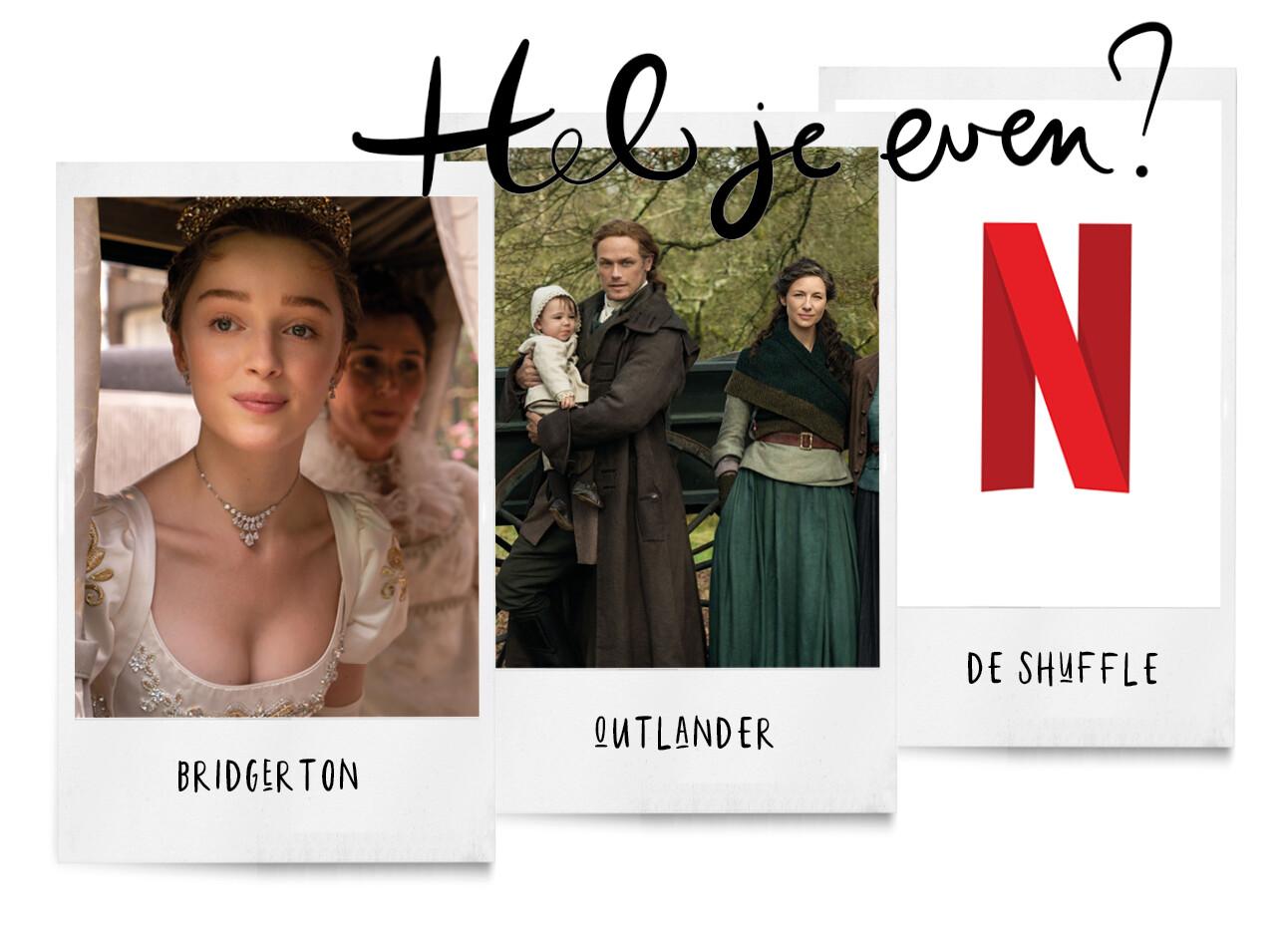 Netflixnieuws: kijken met de shuffleknop en Bridgerton seizoen 2
