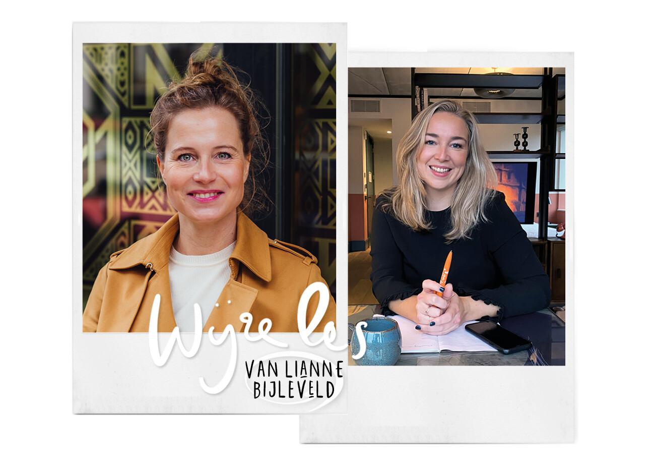 Lianne Bijleveld en Adeline Mans