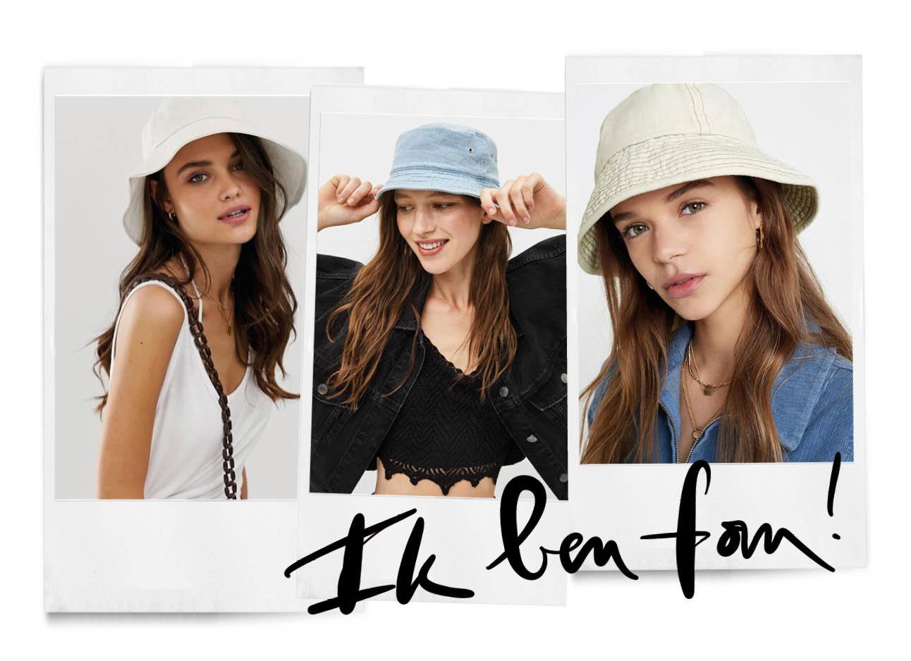bucket hats meisjes modellen voor shopping