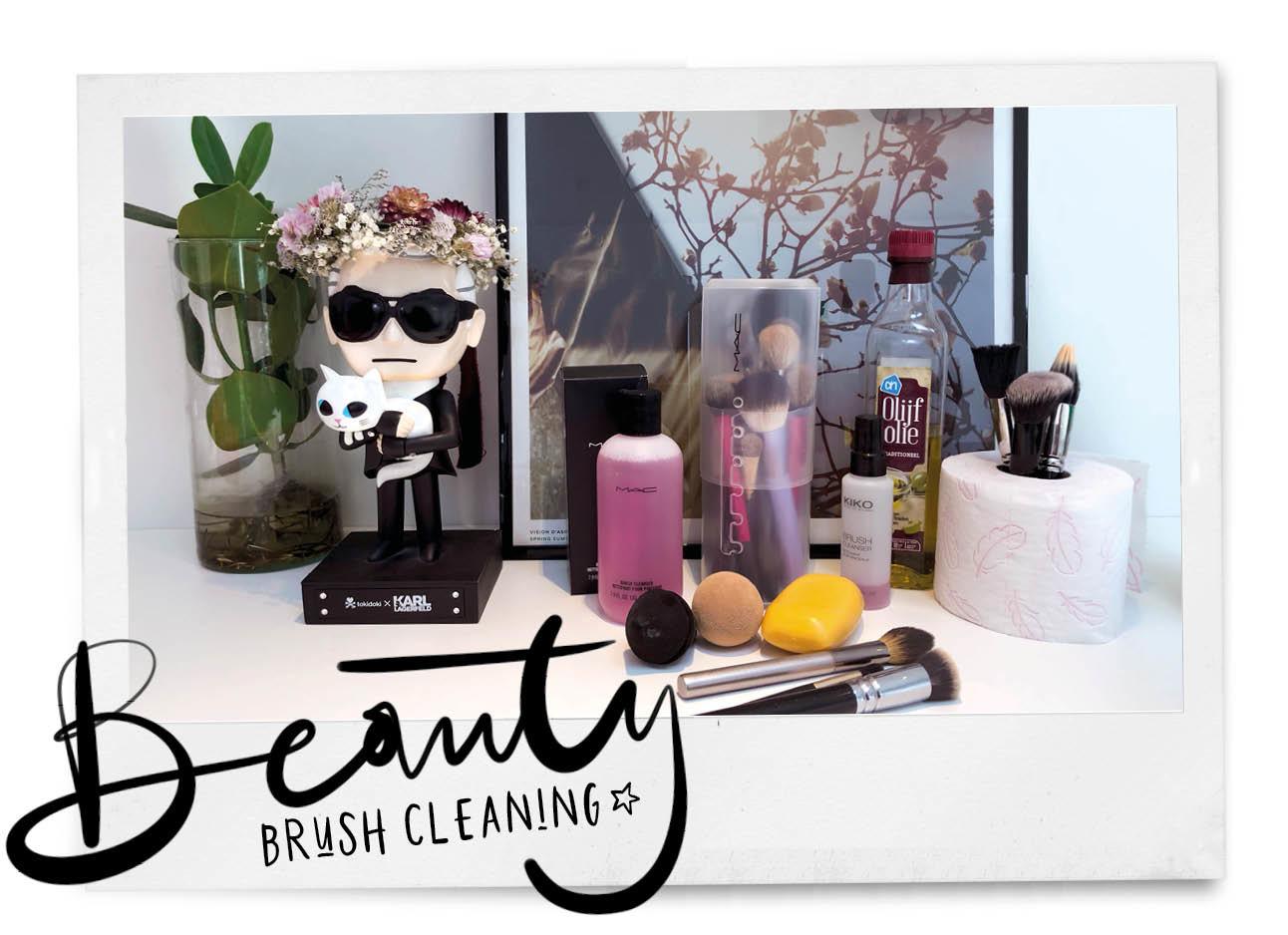 schoonmaken van je kwasten beauty MAC cosmetics